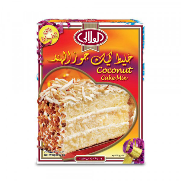 ALALALI COCONUT CAKE MIX 524G