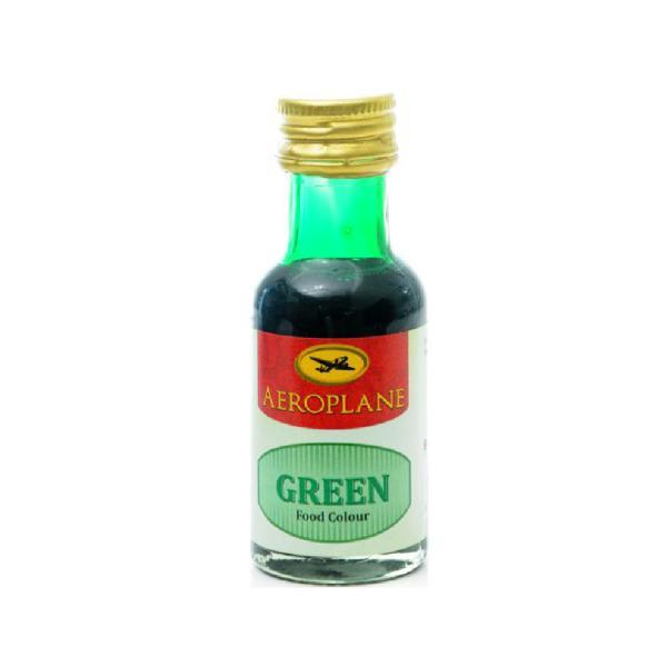 AEROPLANE FOOD COLOUR GREEN 28ML