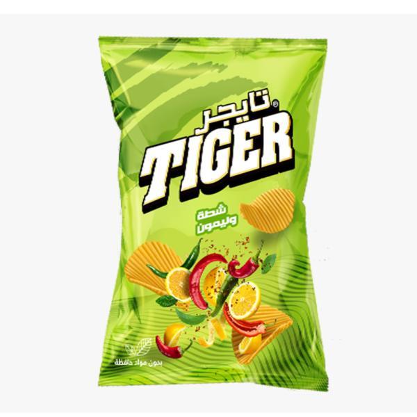 تايجر بطاطا شطة وليمون 45 غ