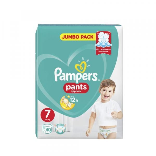 PAMPERS PANTS  M7 NO.7 40'S