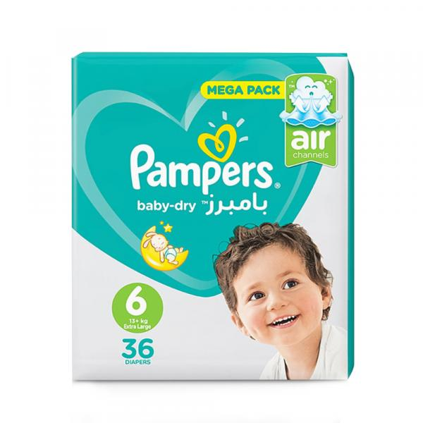 PAMPERS S6 36'S