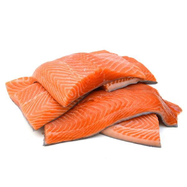 CUT SALMON FISH - KG