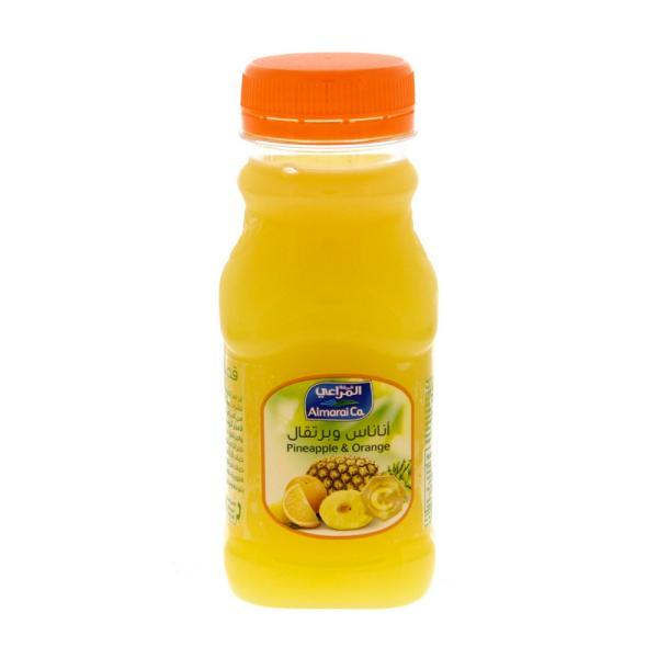 المراعي عصير أناناس وبرتقال 200 مل