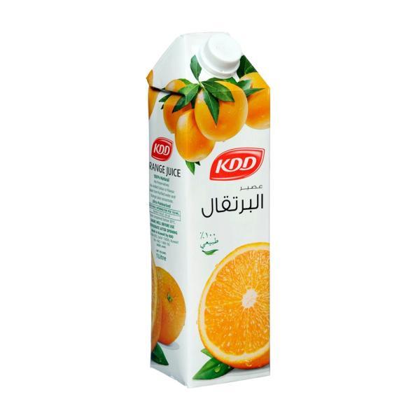 كى دى دى عصير برتقال طبيعي 1 لتر