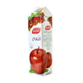 كى دى دى عصير تفاح طبيعي 1 لتر