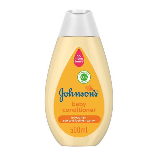 جونسون بلسم اطفال يزيل عقد تشابك الشعر 500 مل
