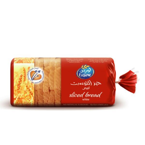 لوزين خبز التوست ابيض شرائح 600 جرام