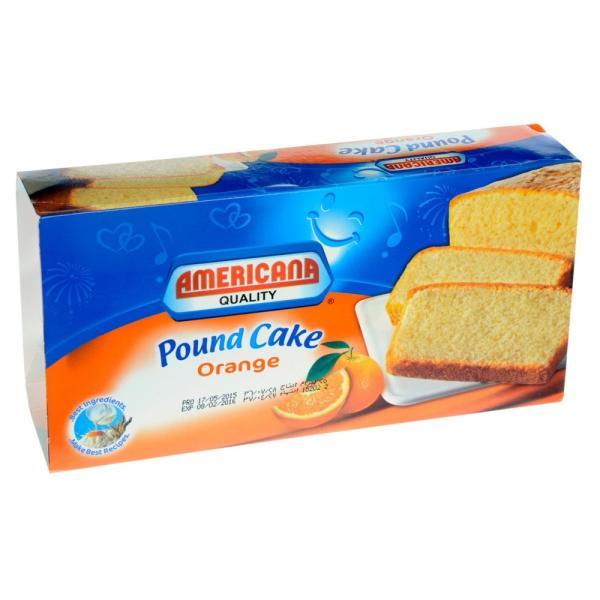 امريكانا باوند كيك برتقال 325 جم