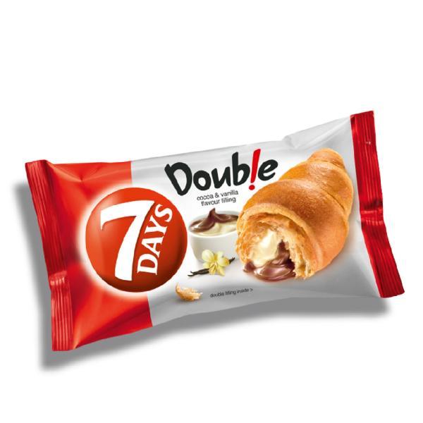 سفن دايز كرواسان الفانيلا والشوكولاتة 55 جم