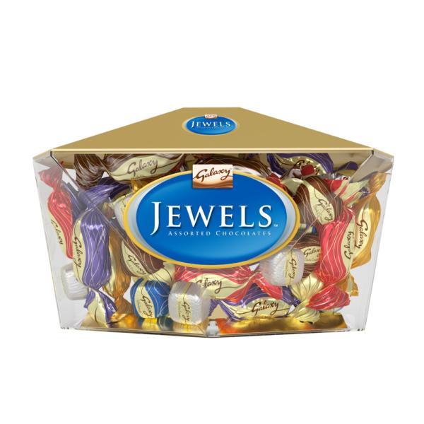شوكولاته جواهر 900 جم جالكسى عبوه الماسه
