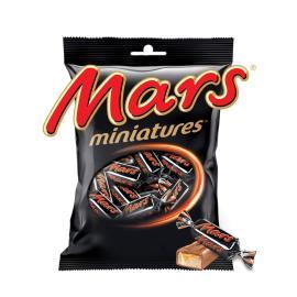 MARS MINIATURES CHOCOLATE BAGS 150G