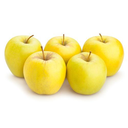 تفاح أصفر لبناني سلة