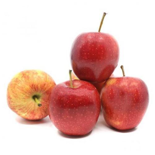 تفاح أحمر لبناني سلة