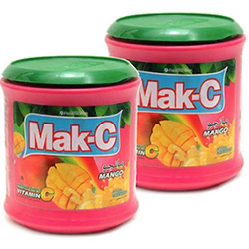 عصير باودر ماك-سي مانجو 2.5 كغ * 2 حبة