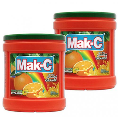 عصير باودر ماك-سي برتقال 2.5 كغ * 2 حبة