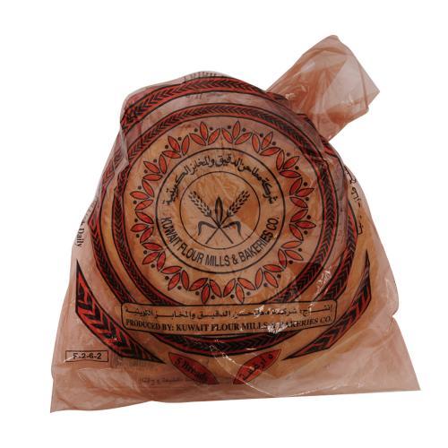 خبز عربي خفيف اسمر 50 جرام