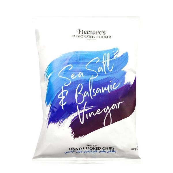 هيكترز شيبسي بطعم الملح والخل البلسمنج 40 جرام