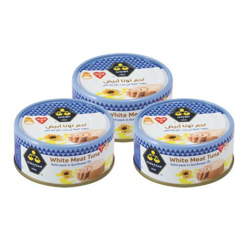 Alwazzan Tuna 160 gm x 3 Pcs