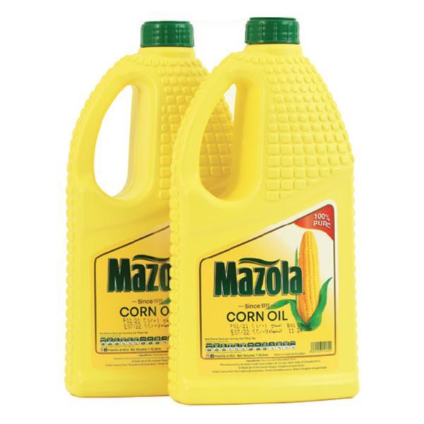 MAZOLA PURE CORN OIL 2x1.5 LTR