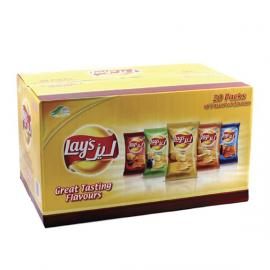 LAY'S CHIPS ASSORTED 14 G * 20 PCS