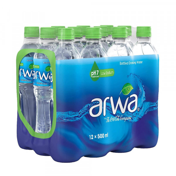 اروى مياه شرب 500 مل *12حبة