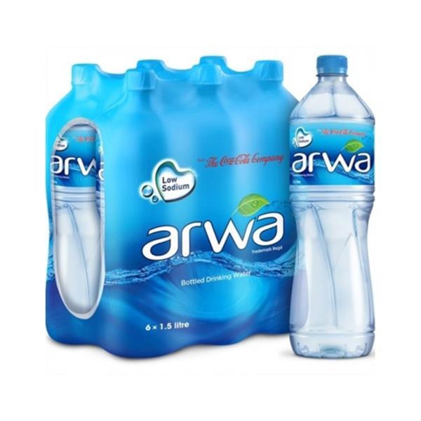 اروى مياه شرب 1.5 لتر * 6 حبة