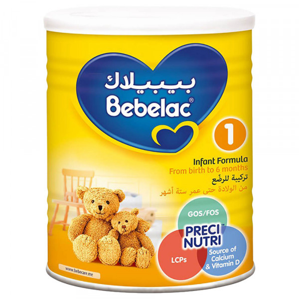 بيبيلاك رقم 1 من الولادة حتي عمر 6 أشهر 400 جم