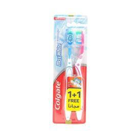 كولجيت فرشاة اسنان ماكس فريش 1+1 مجانا