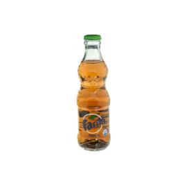 مشروب غازى فانتا تفاح  زجاج  250 مل