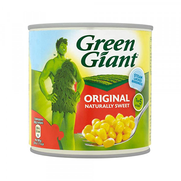 العملاق الأخضر ذرة حلوة 340 جم
