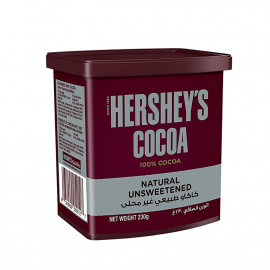 HERSHEYS COCOA NATURAL UNSWEETEND 230G