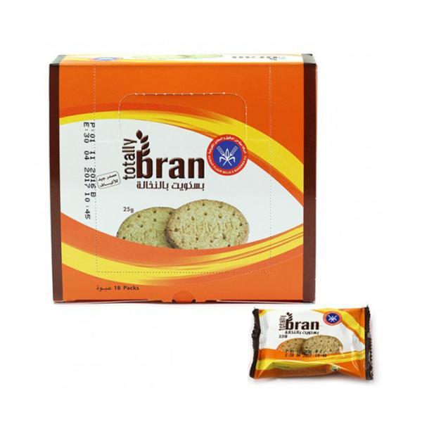 KFM BRAN DIGESTIVE BISCUITS 25G * 24 PACKS