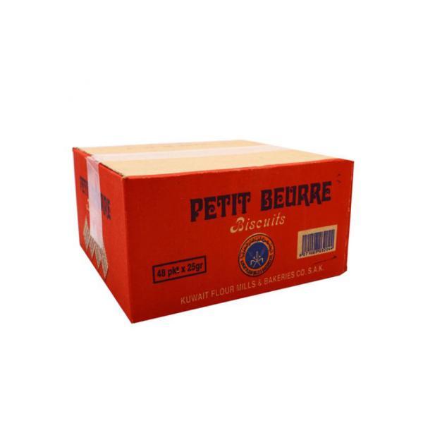 KFM PETIT BEURRE BISCUITS 25G * 48 PACKS