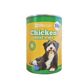 لايف ستايل أكل قطط بالدجاج 400 جم