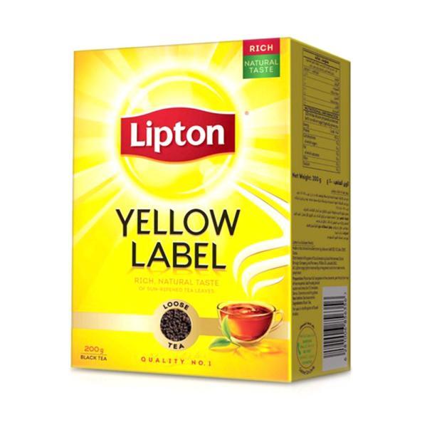 ليبتون شاي فرط 200 جم