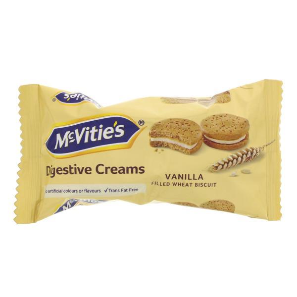MCTIVITIES DIGESTIVE CREAMS VANILLA 40G