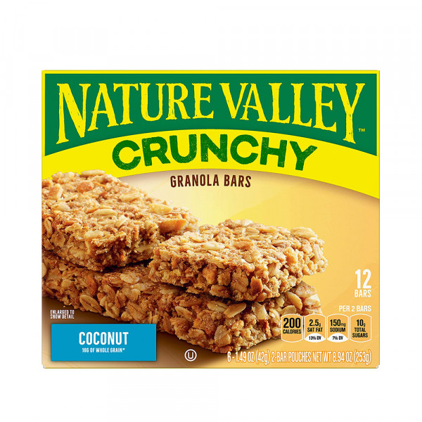NATURE VALLEY COCONUT 12X6X42G