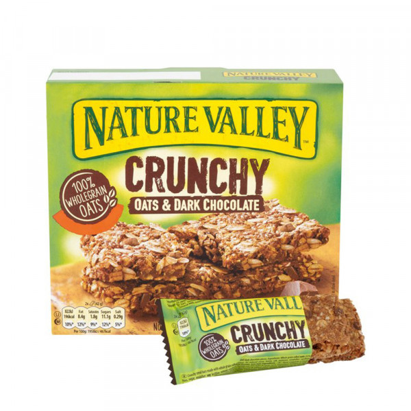 NATURE VALLEY SINGLES OATS &CHOCOLATE 9x21G