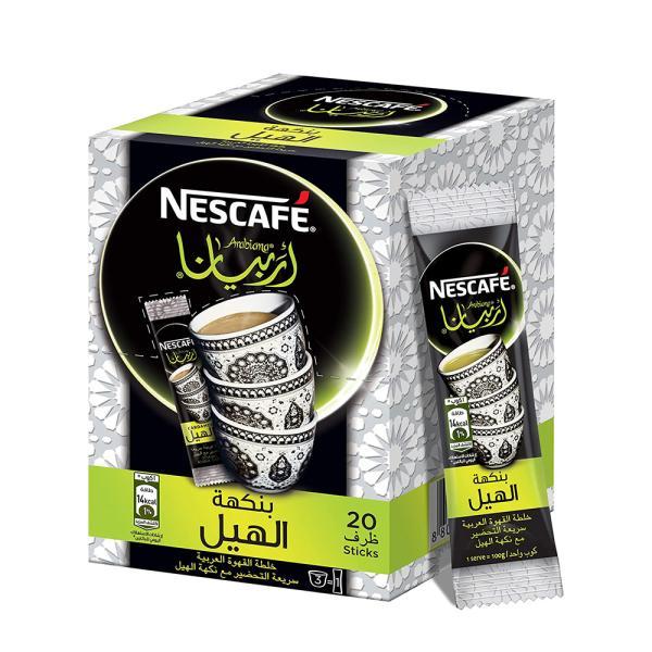 قهوة عربية سريعة التحضير مع الهيل نسكافيه اربيانا 3*20 جم