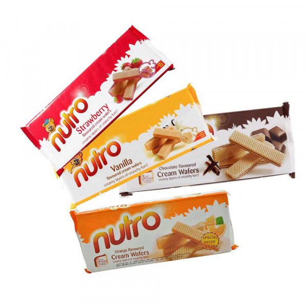 NUTRO WAFERS ASSORTED 4PCSX150GM
