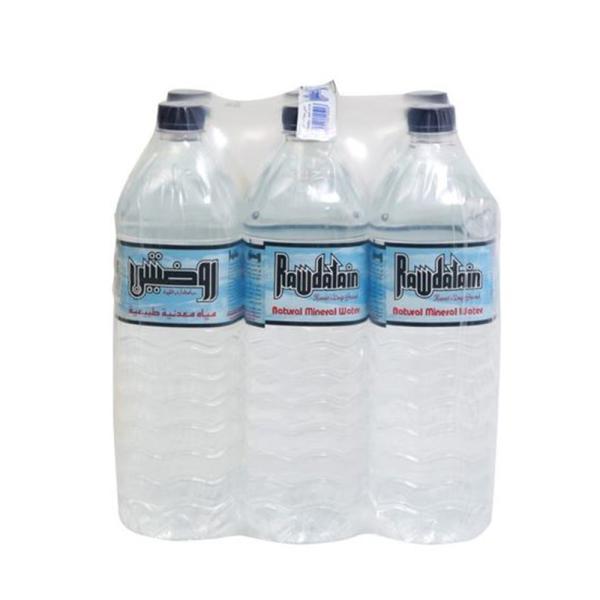 روضتين مياه شرب 1.5 لتر