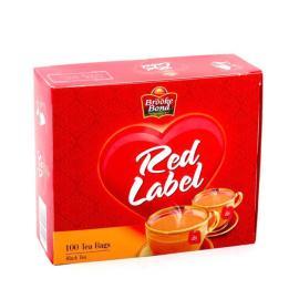 بروك بوند ريد ليبل شاي 100 كيس