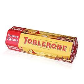 توبلريون شوكولاته بالحليب سويسرية بالعسل والنوجا 6*50